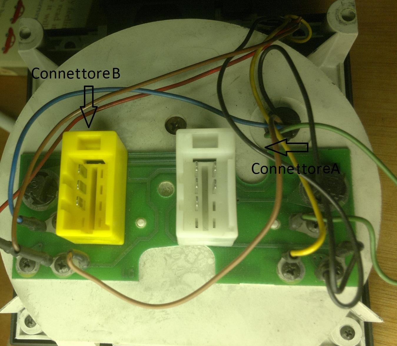 Iveco Daily Speedo Wiring Diagram : Tachimetro