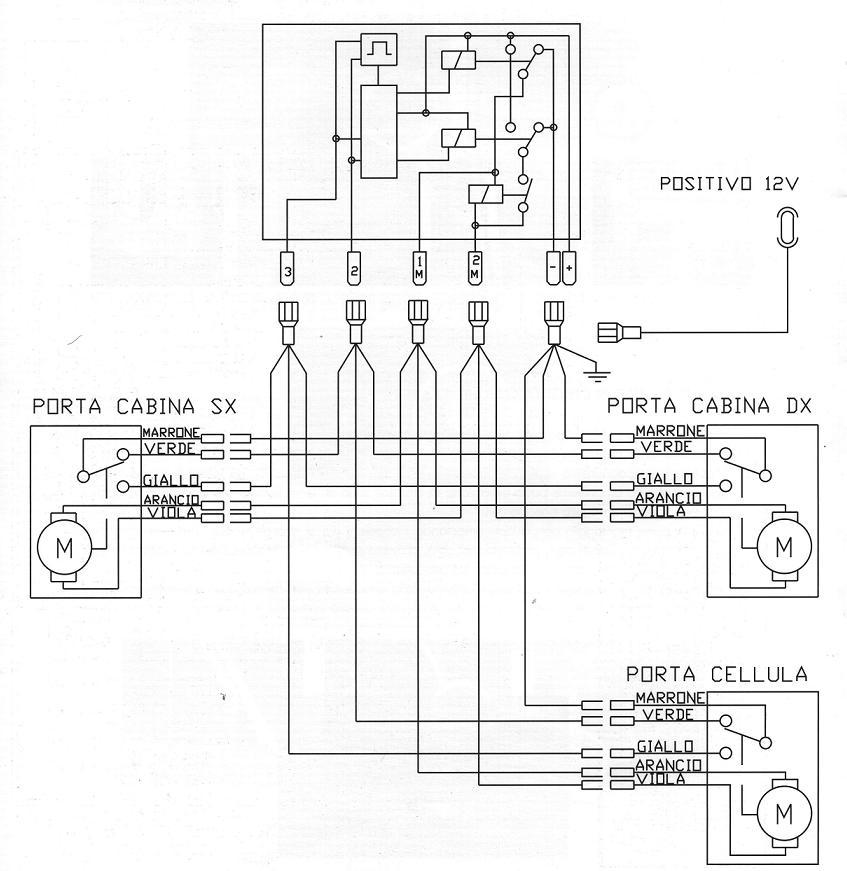 Schema Elettrico Zip : Schema elettrico chiusura centralizzata fiat punto serie